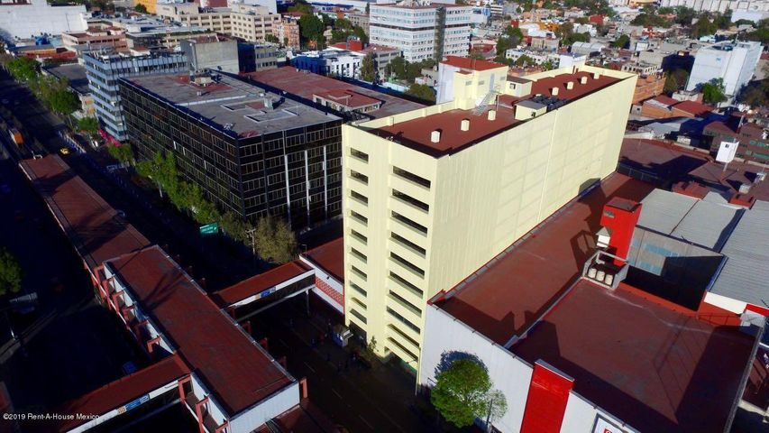 Oficina Distrito Federal>Cuauhtémoc>Cuauhtemoc - Renta:660.000 Pesos - codigo: 21-1899