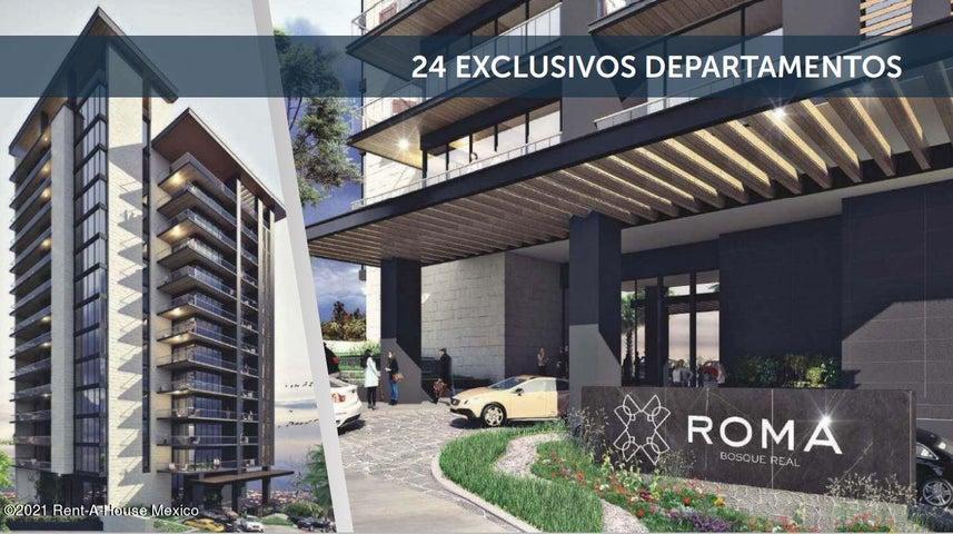 Departamento Estado de Mexico>Huixquilucan>Conjunto Urbano Bosques Real - Venta:42.000.000 Pesos - codigo: 21-2129