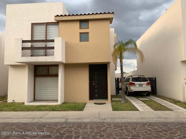 Casa Queretaro>Queretaro>Juriquilla - Venta:3.380.000 Pesos - codigo: 21-2137