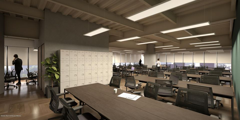 Oficina Distrito Federal>Cuauhtémoc>Juarez - Renta:65.310 Pesos - codigo: 21-2422