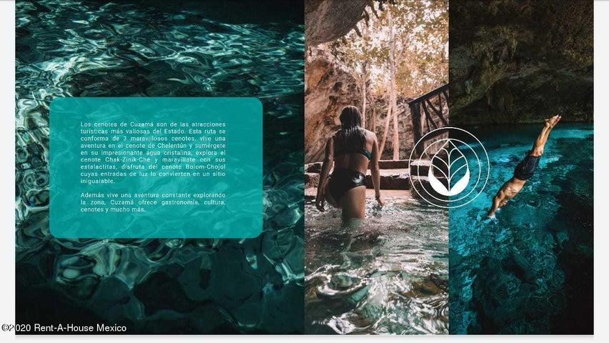Terreno Yucatan>Cuzama>Pueblo Cuzama - Venta:523.877 Pesos - codigo: 21-2677