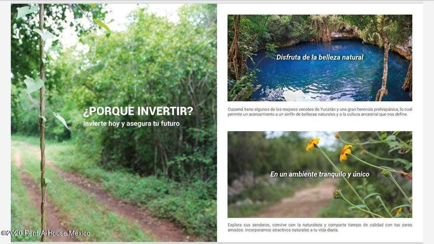 Terreno Yucatan>Cuzama>Pueblo Cuzama - Venta:370.314 Pesos - codigo: 21-2679