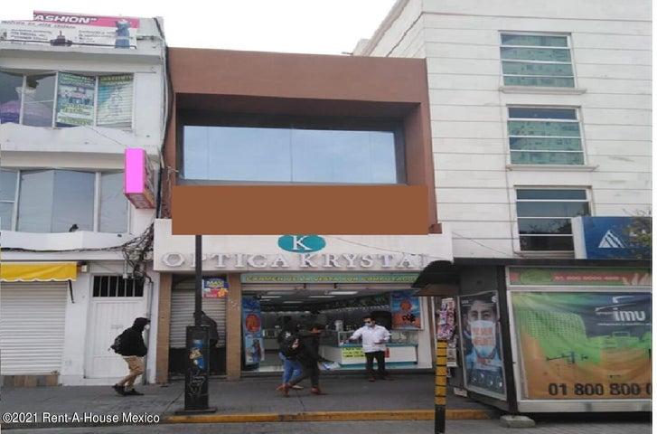Oficina Hidalgo>Pachuca de Soto>Centro - Renta:8.000 Pesos - codigo: 21-1865