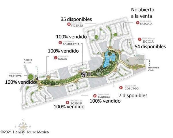 Terreno Queretaro>Corregidora>El Pueblito - Venta:2.201.780 Pesos - codigo: 21-2763