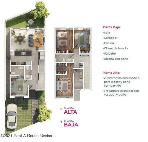Casa Queretaro>El Marques>Zibata - Venta:3.590.000 Pesos - codigo: 21-2968