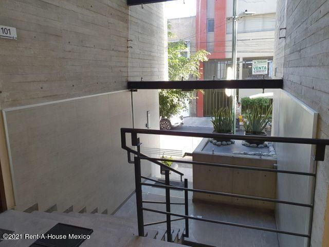 Departamento Distrito Federal>Benito Juárez>Nápoles - Renta:25.000 Pesos - codigo: 21-3230