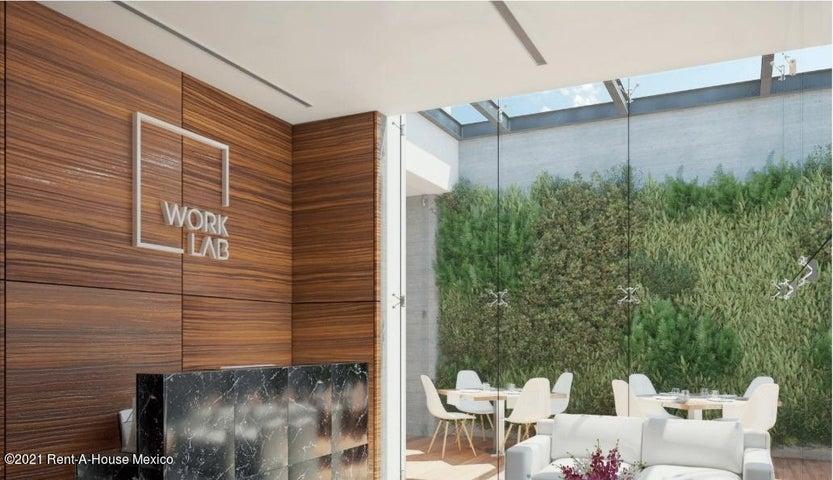 Oficina Distrito Federal>Cuauhtémoc>Roma Sur - Venta:2.920.000 Pesos - codigo: 21-3393