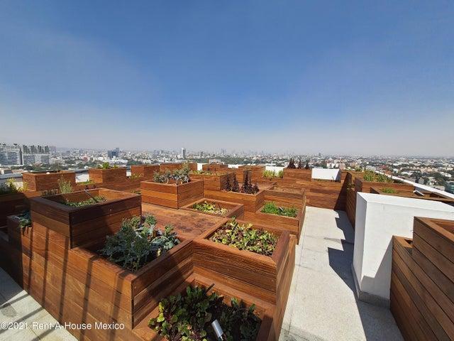 Departamento Distrito Federal>Benito Juárez>Portales - Renta:18.721 Pesos - codigo: 21-3470