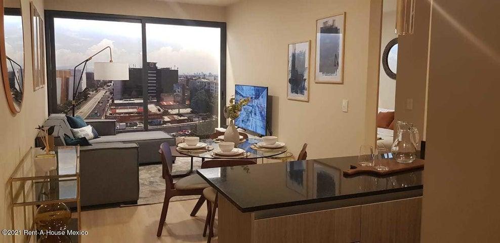 Departamento Distrito Federal>Cuauhtémoc>Roma Sur - Venta:6.769.894 Pesos - codigo: 21-908