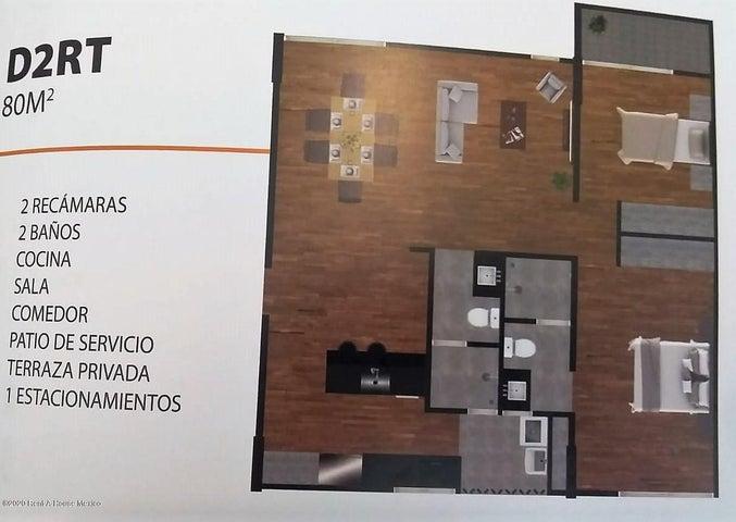 Departamento Queretaro>Corregidora>Punta Esmeralda - Venta:1.420.000 Pesos - codigo: 21-3571