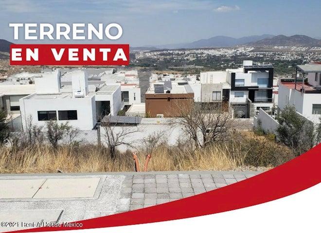 Terreno Queretaro>Queretaro>Cumbres de Juriquilla - Venta:2.360.118 Pesos - codigo: 21-3731