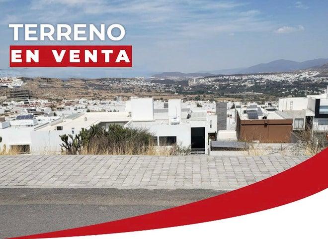 Terreno Queretaro>Queretaro>Cumbres del Lago - Venta:2.470.959 Pesos - codigo: 21-3734