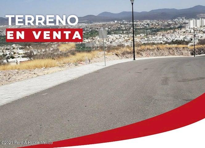 Terreno Queretaro>Queretaro>Cumbres del Lago - Venta:1.622.995 Pesos - codigo: 21-3740