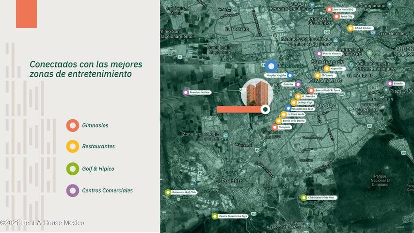 Departamento Queretaro>Corregidora>Prolongacion Amsterdam - Venta:2.358.979 Pesos - codigo: 21-3741