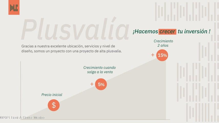 Departamento Queretaro>Corregidora>Prolongacion Amsterdam - Venta:2.757.049 Pesos - codigo: 21-3804