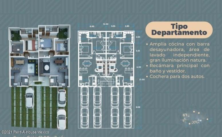 Departamento Queretaro>Queretaro>San Miguelito - Venta:950.000 Pesos - codigo: 21-3870