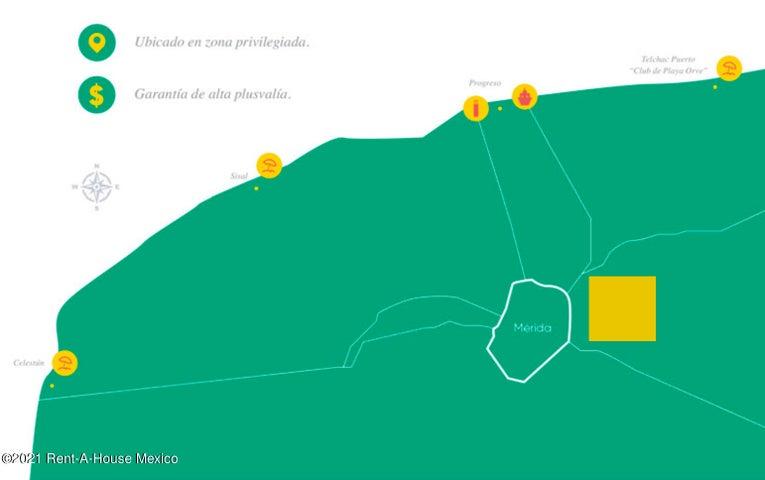 Terreno Yucatan>Merida>Puerto Progreso - Venta:418.540 Pesos - codigo: 21-3911