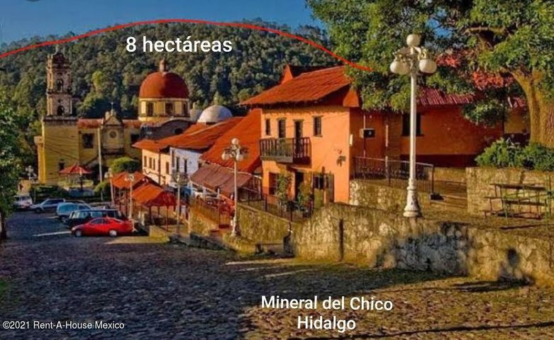 Terreno Hidalgo>Mineral del Chico>Mineral del Chico Centro - Venta:20.000.000 Pesos - codigo: 21-3995