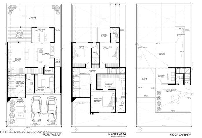 Casa Queretaro>El Marques>Zibata - Venta:3.950.000 Pesos - codigo: 21-4051