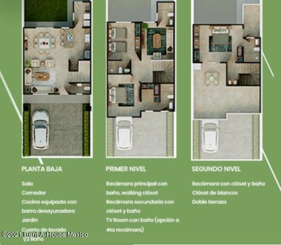 Casa Queretaro>Queretaro>La Vista - Venta:3.839.000 Pesos - codigo: 21-2172