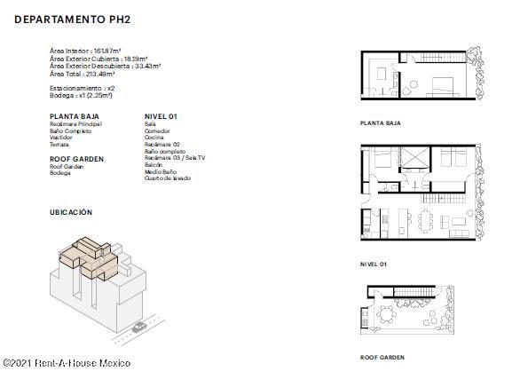 Departamento Distrito Federal>Benito Juárez>Narvarte Poniente - Venta:5.607.435 Pesos - codigo: 21-4242