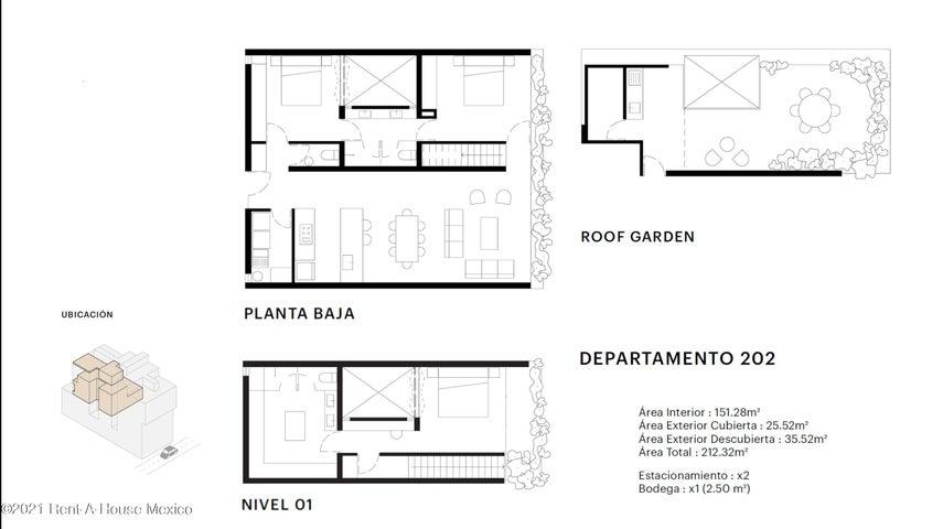 Departamento Distrito Federal>Benito Juárez>Narvarte Poniente - Venta:7.607.435 Pesos - codigo: 21-4243