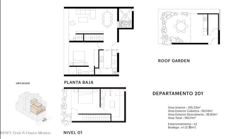 Departamento Distrito Federal>Benito Juárez>Narvarte Poniente - Venta:7.821.579 Pesos - codigo: 21-4244