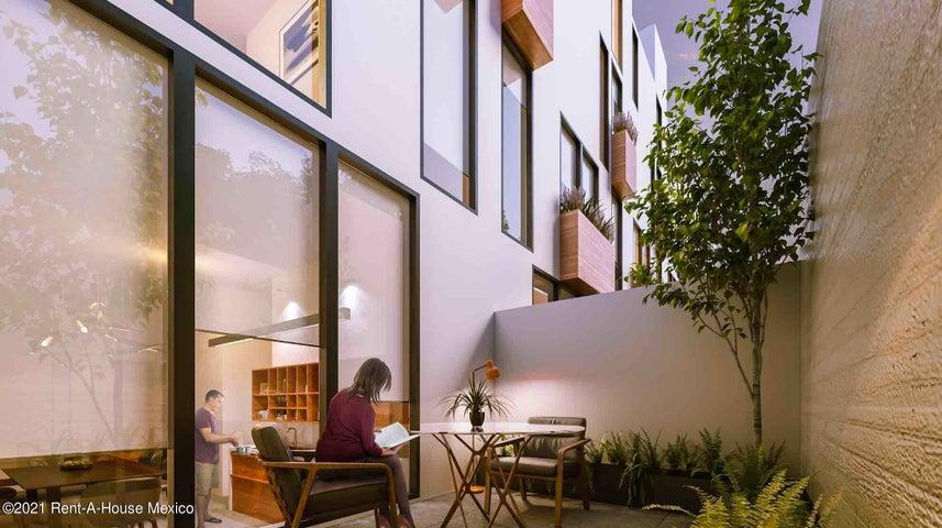 Casa Distrito Federal>Cuauhtémoc>Roma Sur - Venta:9.326.512 Pesos - codigo: 21-4252