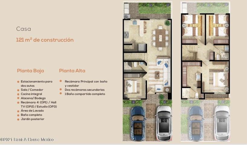 Casa Queretaro>El Marques>Zakia - Venta:2.237.146 Pesos - codigo: 21-4365