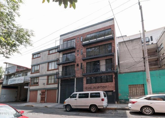 Departamento Distrito Federal>Cuauhtémoc>Santa Maria la Ribera - Venta:3.150.000 Pesos - codigo: 21-4481