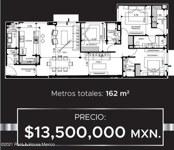 Departamento Distrito Federal>Miguel Hidalgo>Polanco - Venta:13.500.000 Pesos - codigo: 21-4494