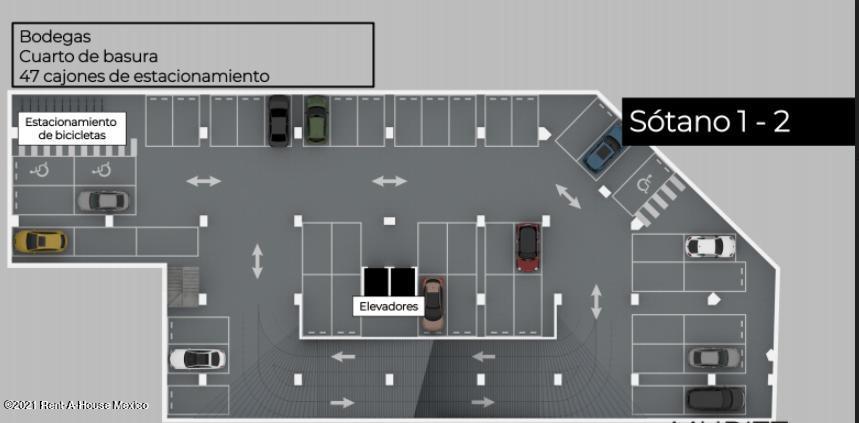 Departamento Distrito Federal>Miguel Hidalgo>Anahuac - Venta:2.840.000 Pesos - codigo: 21-4517