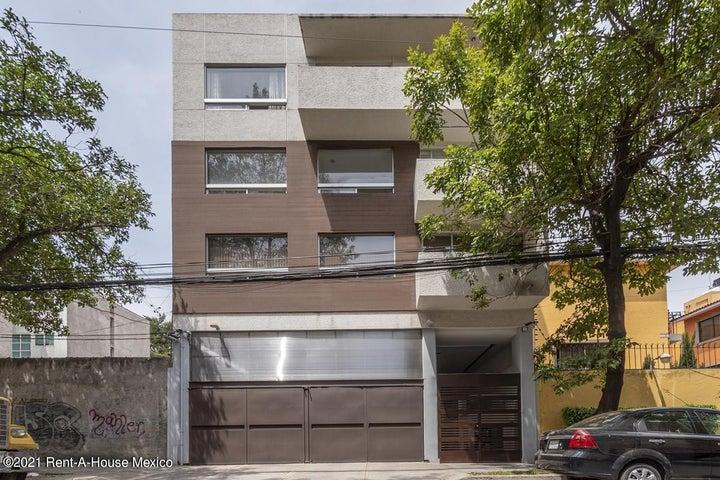 Departamento Distrito Federal>Benito Juárez>Narvarte - Venta:3.695.000 Pesos - codigo: 21-4524