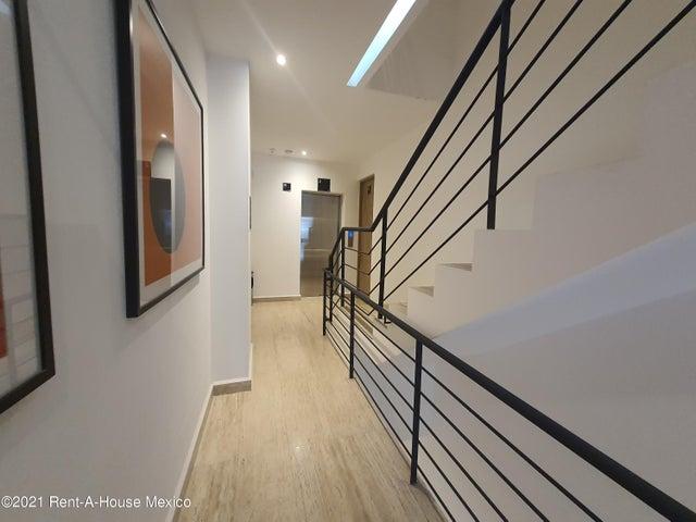 Oficina Distrito Federal>Cuauhtémoc>Roma Sur - Renta:43.013 Pesos - codigo: 21-4541