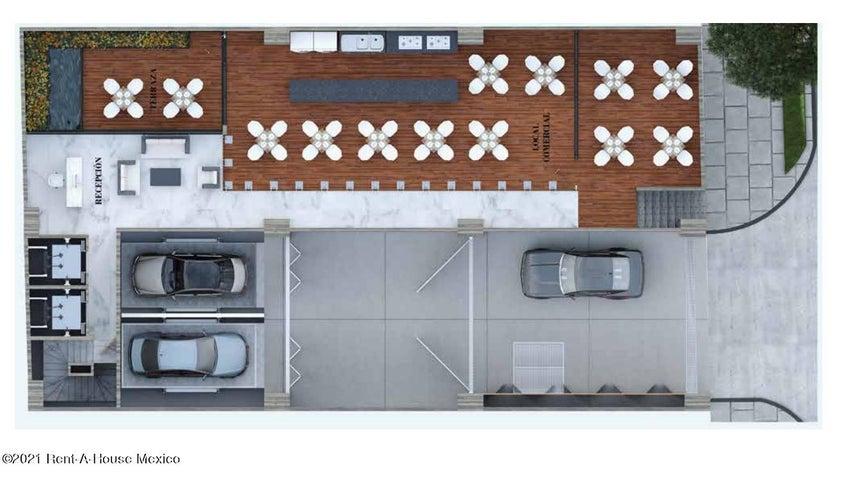 Local Comercial Distrito Federal>Cuauhtémoc>Roma Sur - Renta:92.000 Pesos - codigo: 21-4545