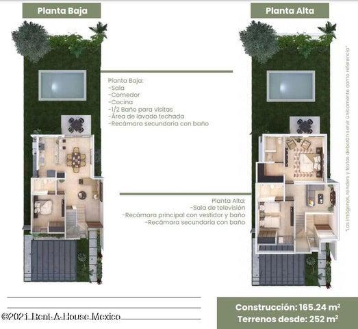 Casa Yucatan>Merida>Dzitya - Venta:2.649.000 Pesos - codigo: 21-4575