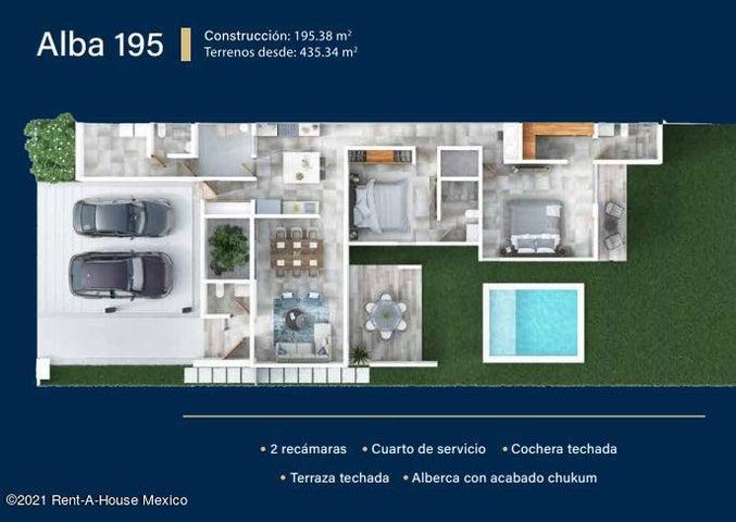Casa Yucatan>Conkal>Conkal - Venta:3.299.000 Pesos - codigo: 21-4579