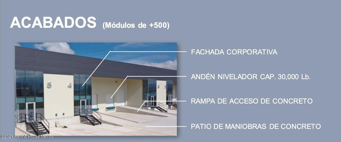 Nave Industrial Queretaro>Queretaro>Centro Sur - Venta:2.290.042 Pesos - codigo: 21-4581