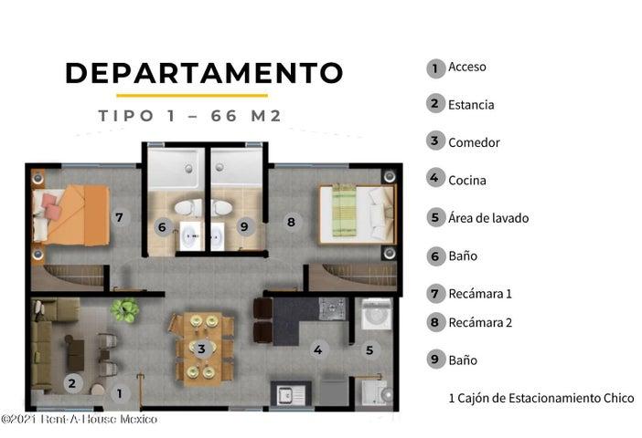Departamento Distrito Federal>Coyoacan>Pedregal de Santa Ursula - Venta:2.720.000 Pesos - codigo: 21-4593