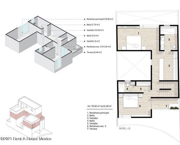 Casa Queretaro>El Marques>Zibata - Venta:4.750.000 Pesos - codigo: 21-4693