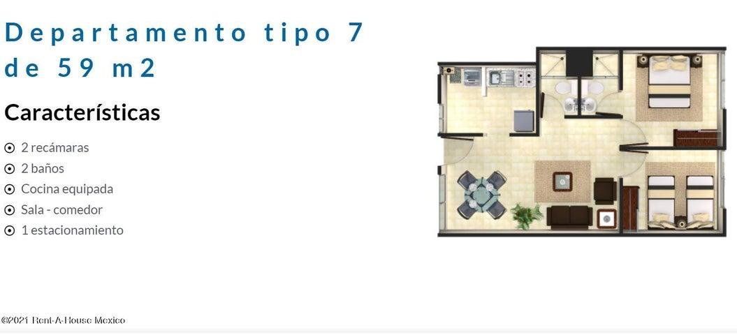 Departamento Distrito Federal>Venustiano Carranza>Artes Graficas - Venta:2.015.000 Pesos - codigo: 21-4896