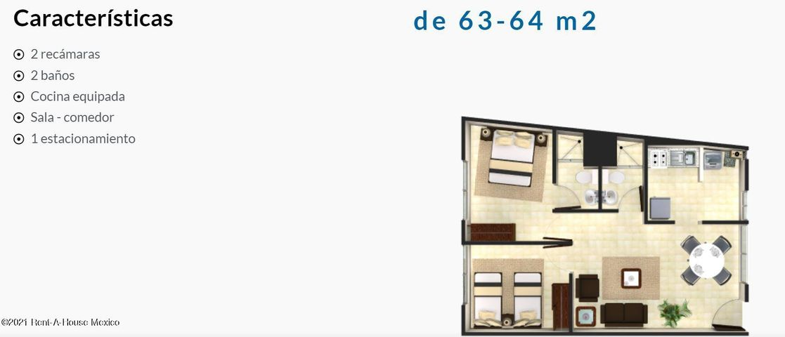 Departamento Distrito Federal>Venustiano Carranza>Jamaica - Venta:2.154.000 Pesos - codigo: 21-4900