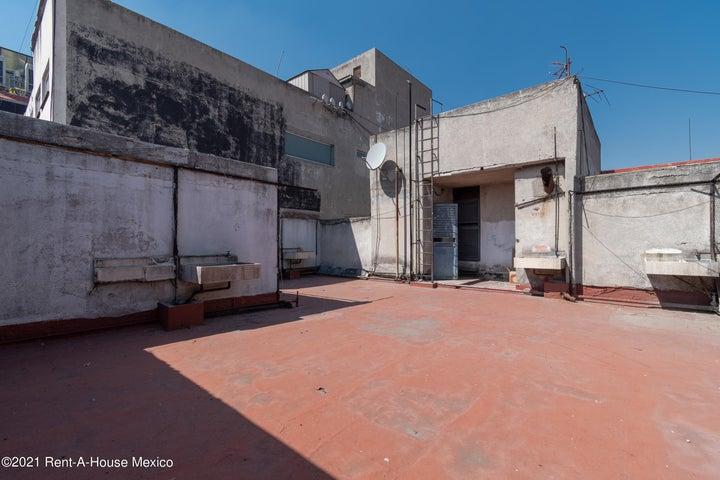 Departamento Distrito Federal>Cuauhtémoc>Roma Sur - Venta:6.195.000 Pesos - codigo: 21-4911