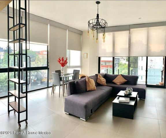 Departamento Distrito Federal>Benito Juárez>Nápoles - Renta:29.500 Pesos - codigo: 21-5034