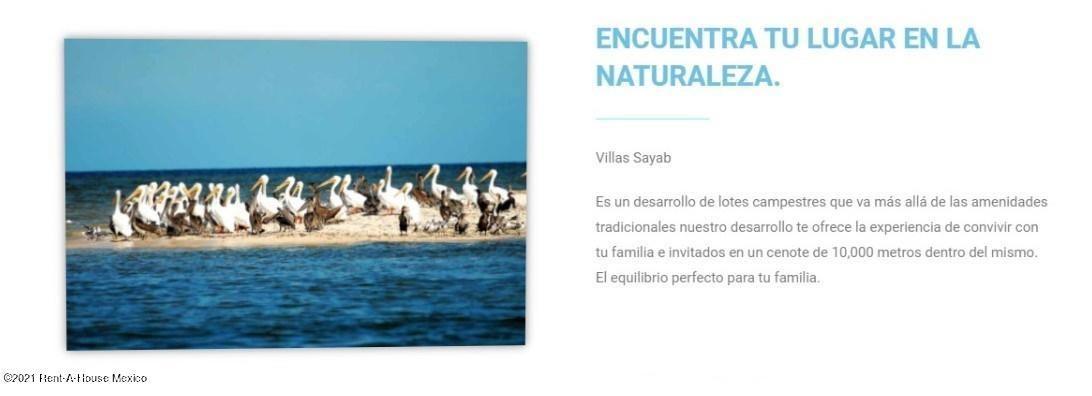 Terreno Yucatan>Dzilam de Bravo>Villas Sayab - Venta:442.272 Pesos - codigo: 21-5062
