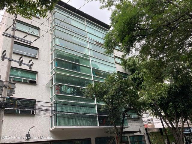 Departamento Distrito Federal>Miguel Hidalgo>Escandon - Renta:14.600 Pesos - codigo: 22-523