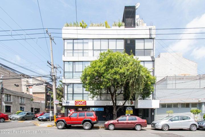 Departamento Distrito Federal>Cuauhtémoc>Roma Norte - Venta:3.595.000 Pesos - codigo: 22-679