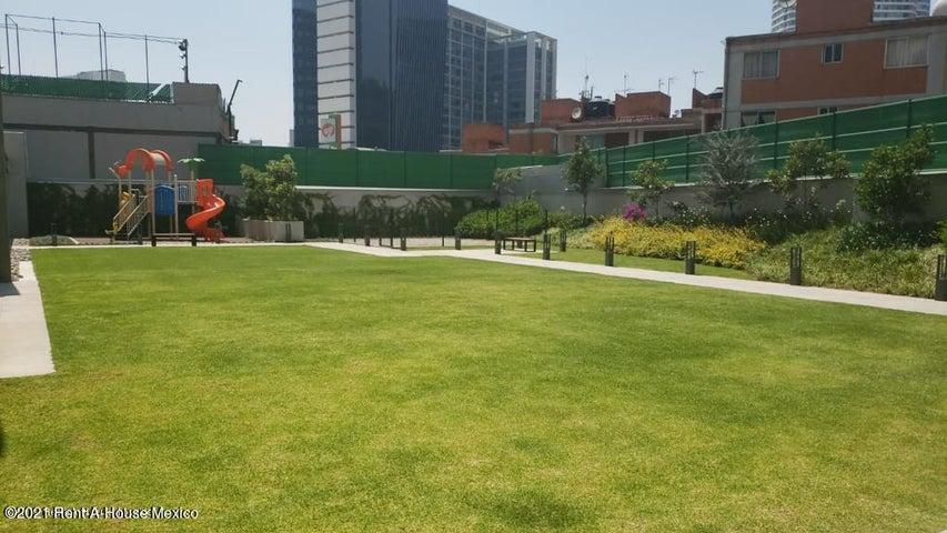 Departamento Distrito Federal>Miguel Hidalgo>Anahuac - Renta:16.500 Pesos - codigo: 22-705