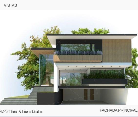Casa Estado de Mexico>Huixquilucan>Interlomas - Renta:33.000.000 Pesos - codigo: 22-711