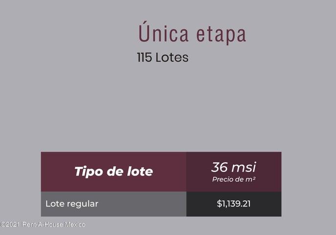 Terreno Yucatan>Conkal>Conkal - Venta:386.640 Pesos - codigo: 22-930